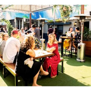 Outdoor function space