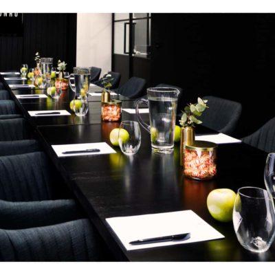 Long table setup venue