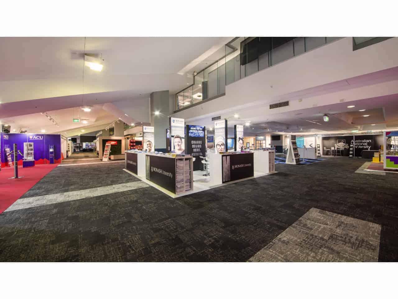 Open plan ground floor space
