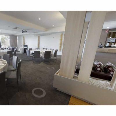 Indoor meeting venue