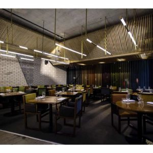 Intimate dining space