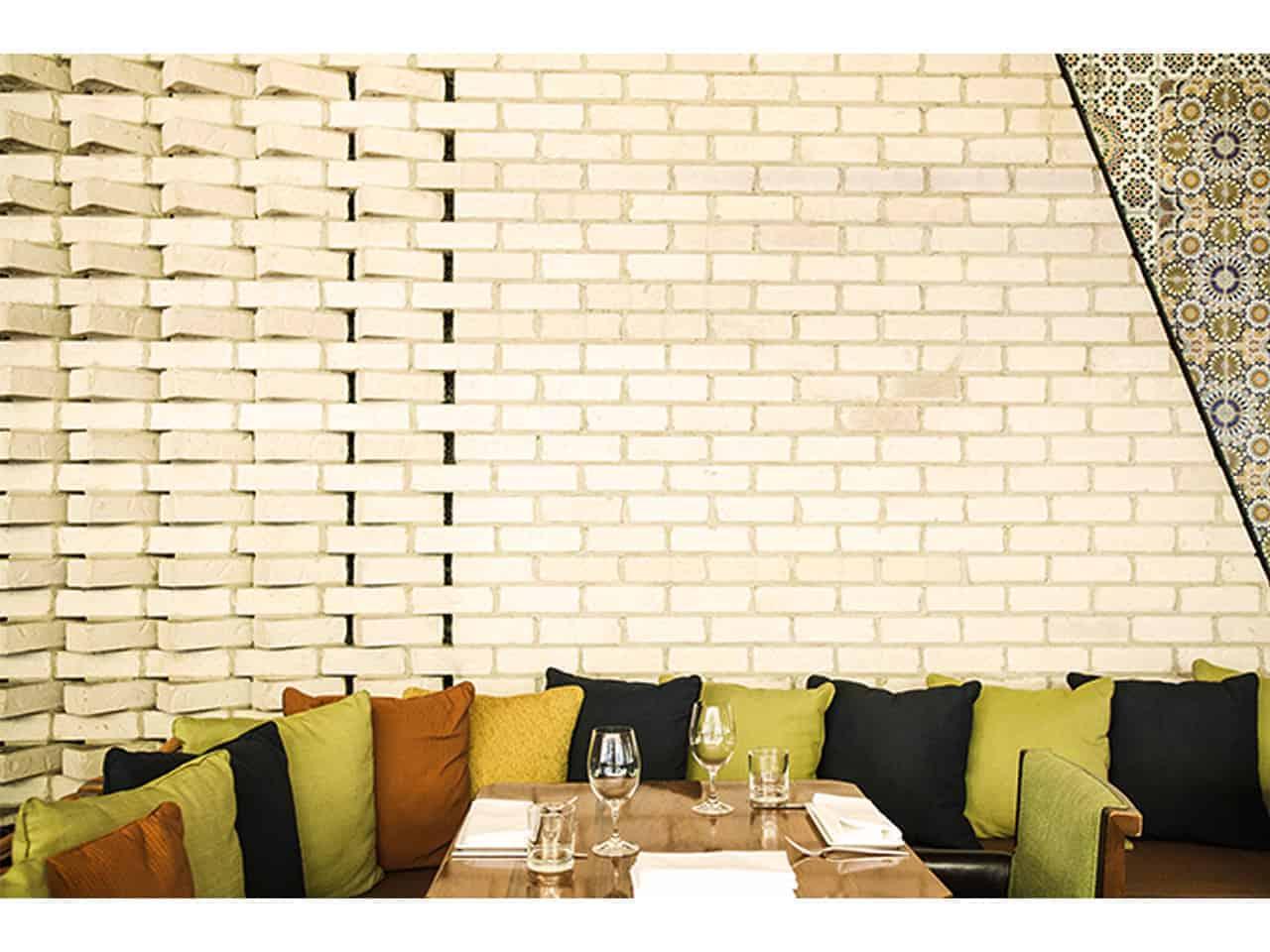 Unique dining space
