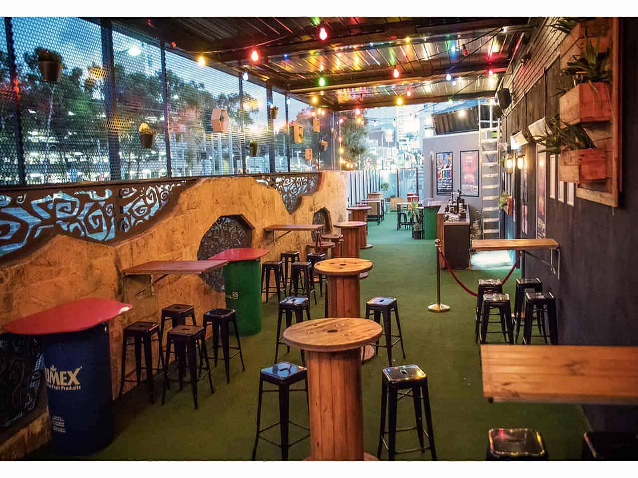 Unique bar venue