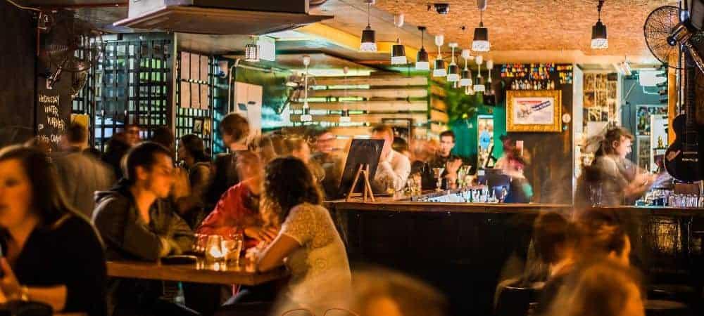 Small bar venue hire