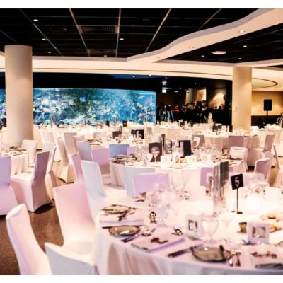 Banquet style for events