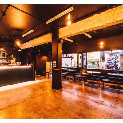 Venue with dance floor