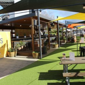 Outdoor private functions at WACA