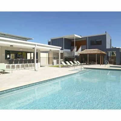 Outdoor pool facility
