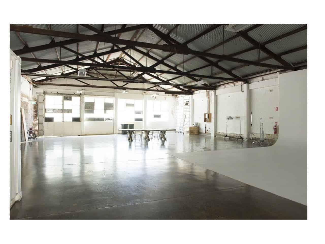 Warehouse photo studio