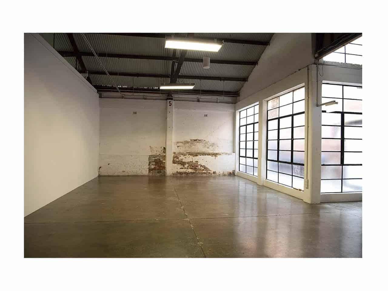 Open plan warehouse