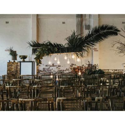 Warehouse wedding venue
