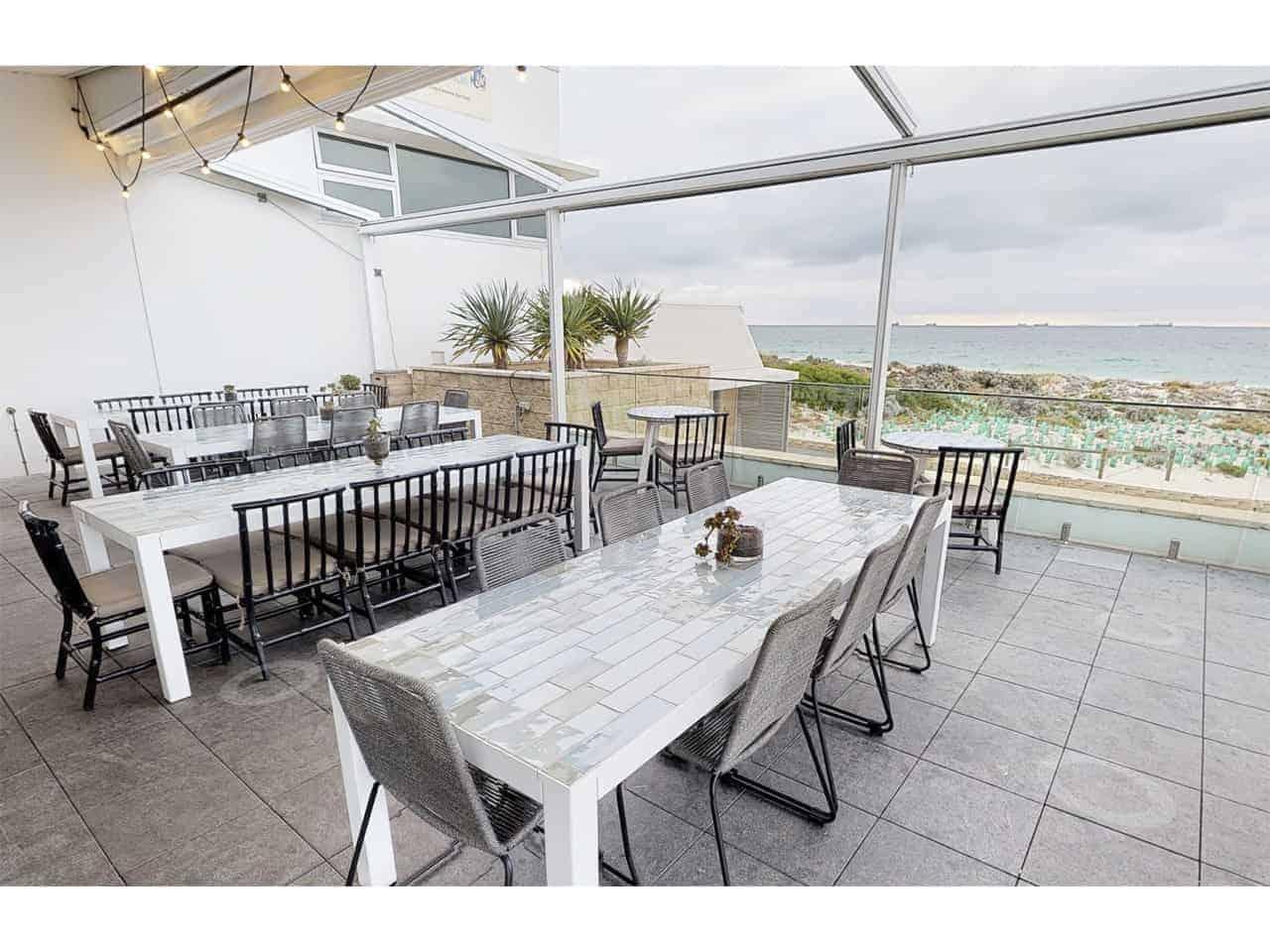 Oceanside outdoor venue