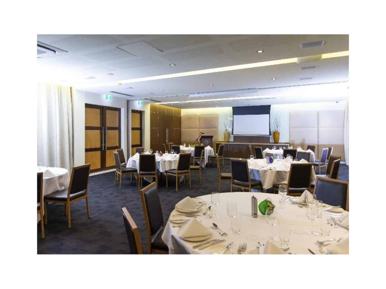 Large corporate function room