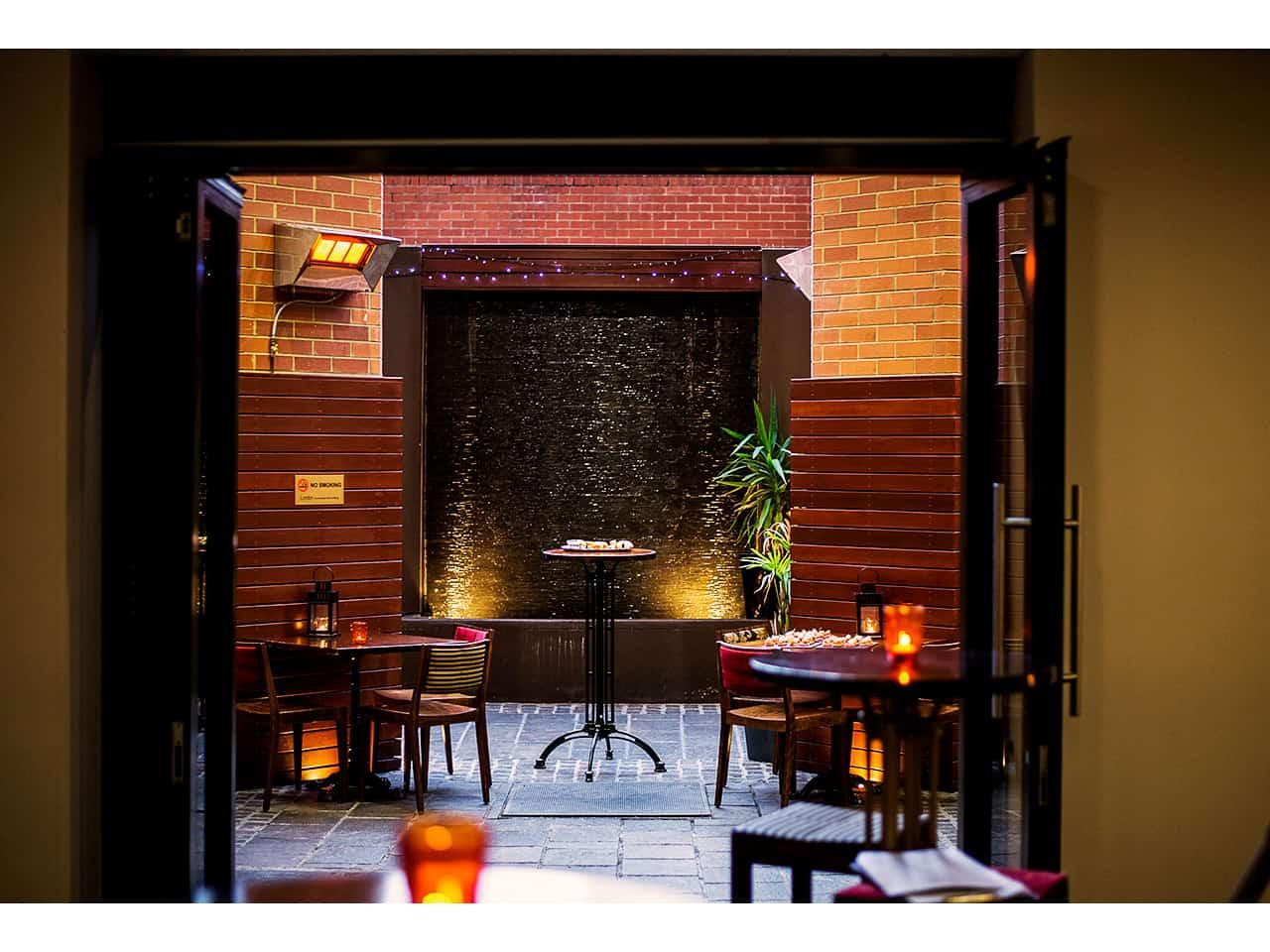 indoor outdoor venue in perth city