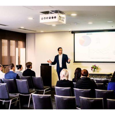 small seminar venue