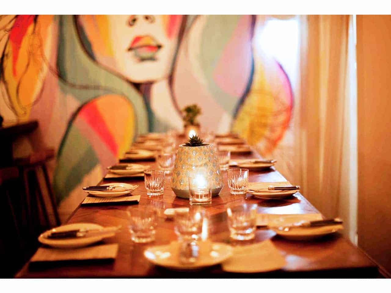 Long table style event