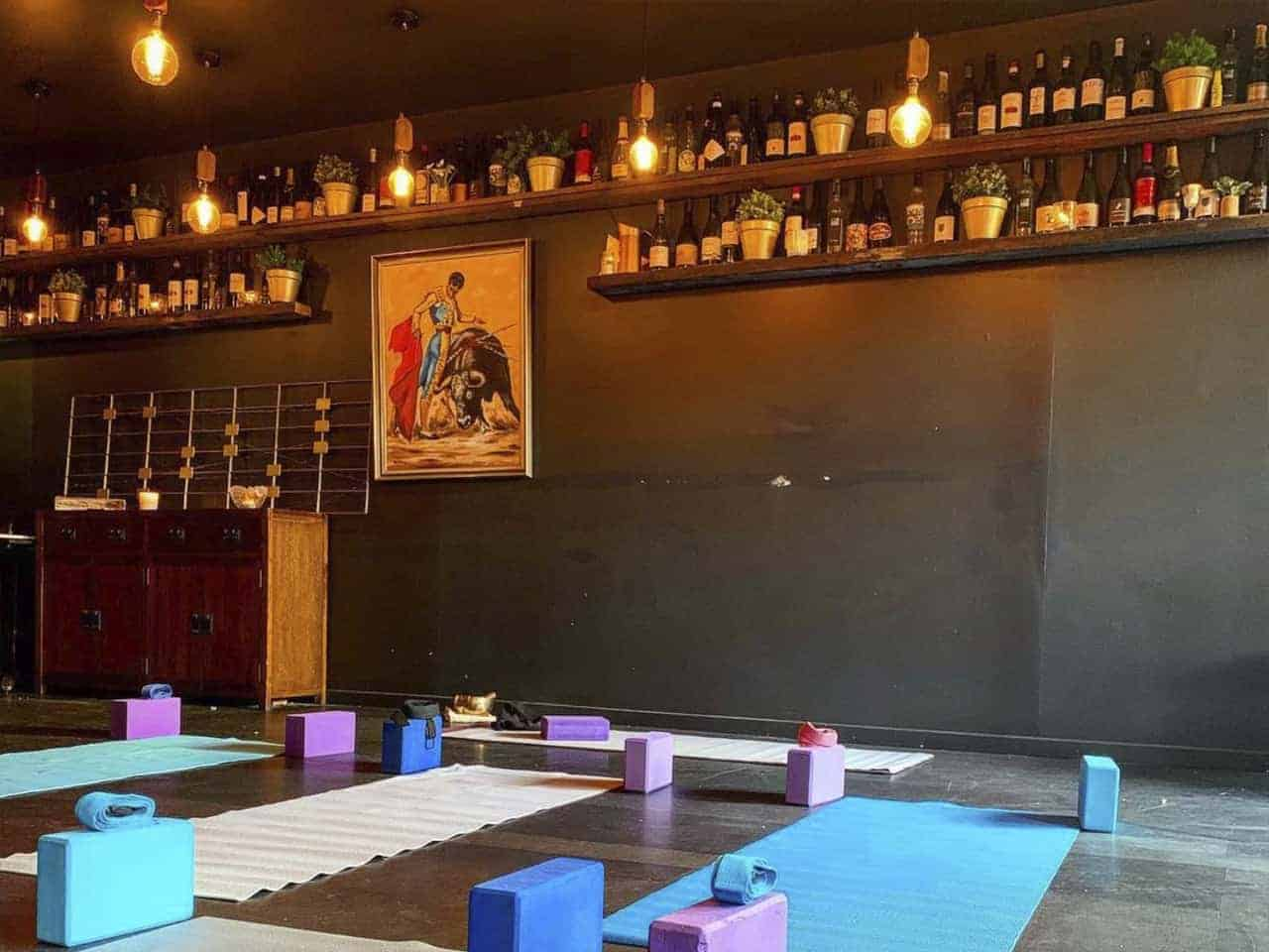 Private class and workshop space