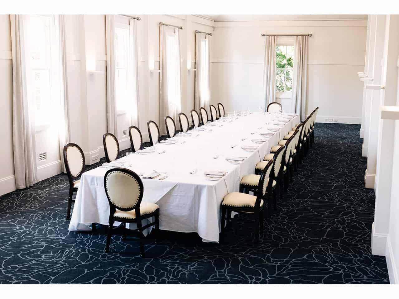 Boardroom style event